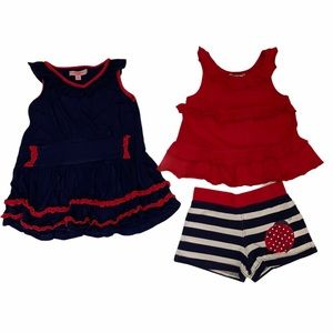 Hartstrings 2 Piece Lady Bug Outfit & Free Dress 4